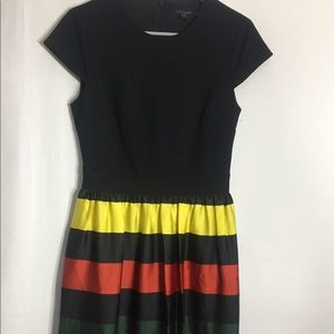 Ted Baker London Aneli Striped dress
